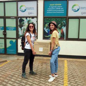 RHU ci ha donato 3000 preservativi per le campagne informative sulla contraccezione.
